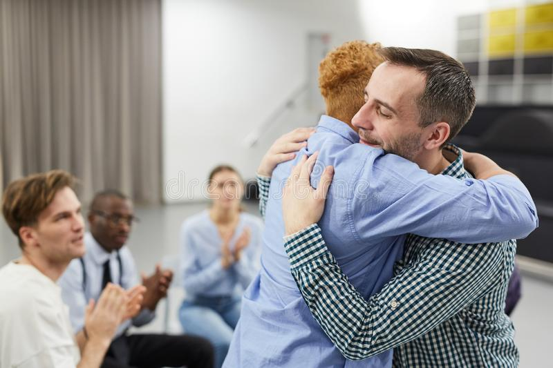 Healing in Support Group stock photos