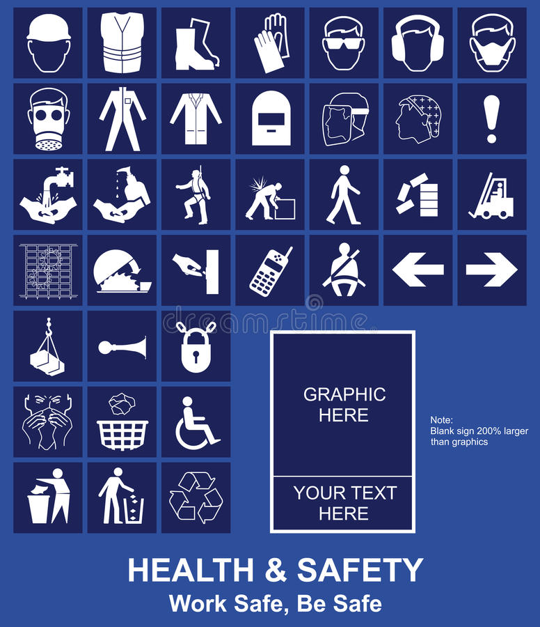 Free Health And Safety Sign Royalty Free Stock Photo - 14745765