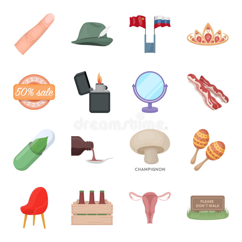 Health, beauty, food and other web icon in cartoon style.Hunting, entertainment, service icons in set collection. vector illustration
