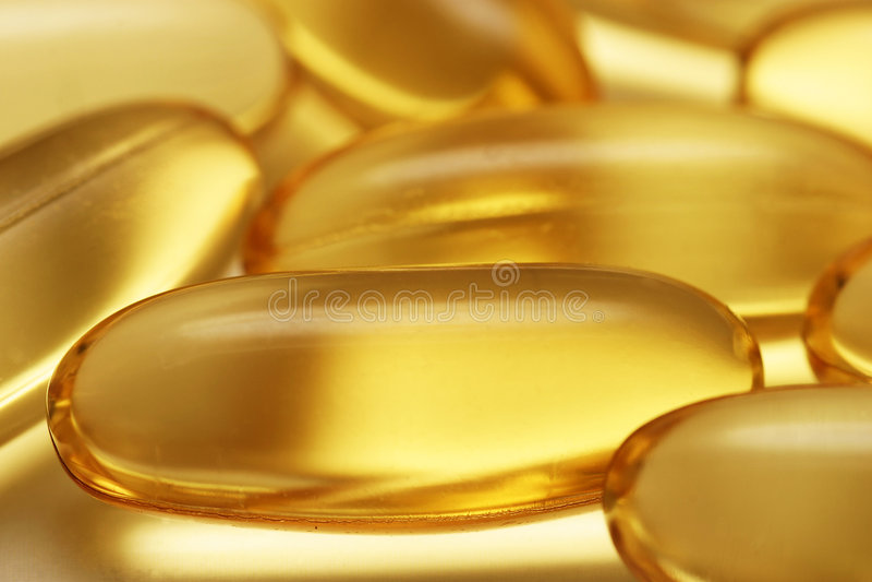 Health Capsules stock image