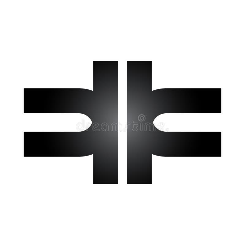 Health Care abstract Symbol Logo. medical vector logo. cross symbol. pharmacy, medicine logo royalty free illustration