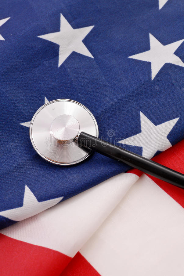 Health Care for Americans stock photo