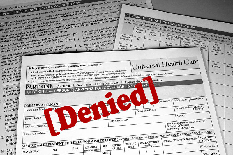 Download Health Care Denied stock photo. Image of cost, blank - 19491224