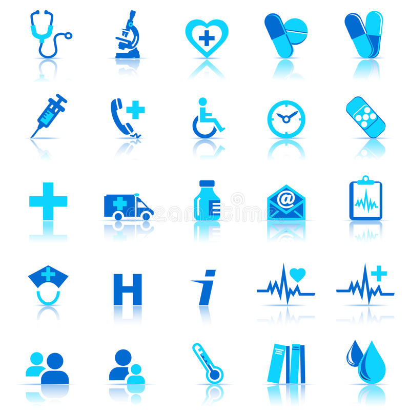 Download Health Care icons stock vector. Image of health, icon - 16082754