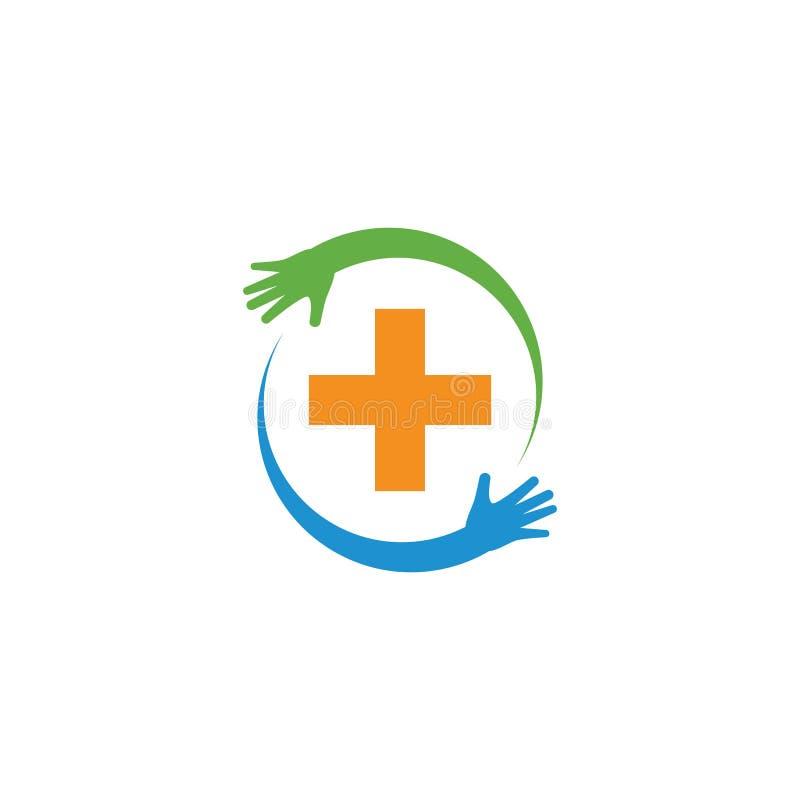 Health care Medical Logo vector illustration