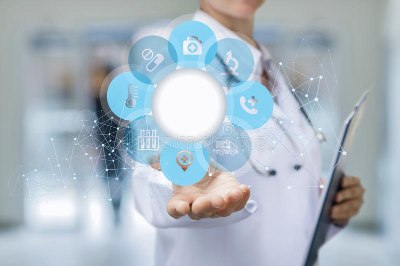 Health care and medical services . stock image