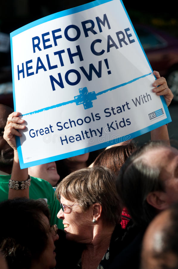 Download Health Care Protest editorial stock photo. Image of activist - 11533853