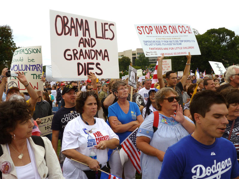 Download Health Care Reform Protest Editorial Photo - Image: 10928156