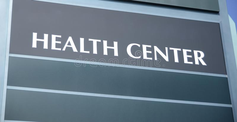 Health Center Building stock photography