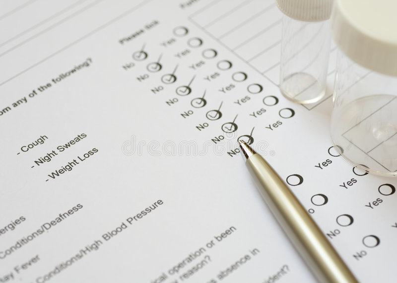 Download Health Check stock image. Image of information, mark, choice - 5055977