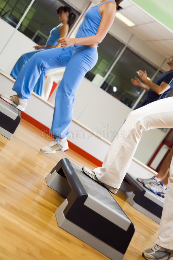 Health club stock image