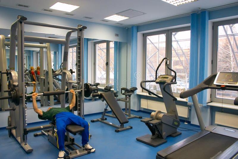 Health Club. Interior of Health Club royalty free stock image