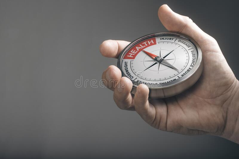 Health concept. Healthcare and the way to stay healthy royalty free stock photo