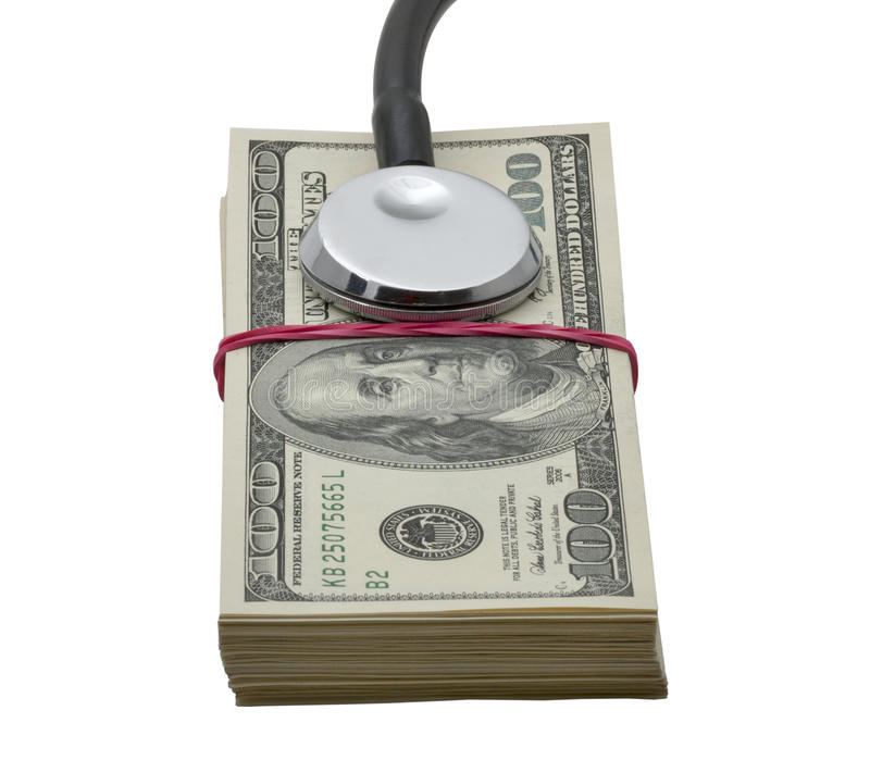 Health costs royalty free stock image