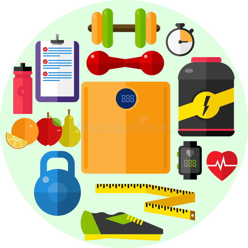 Health, Diet Fitness stock photography