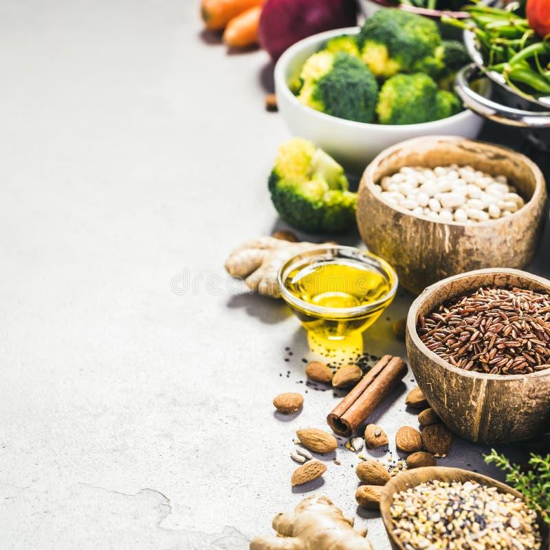 Health food concept stock photos