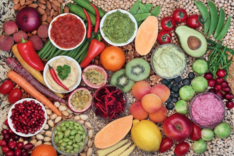 Health food for Vegan Eating stock image