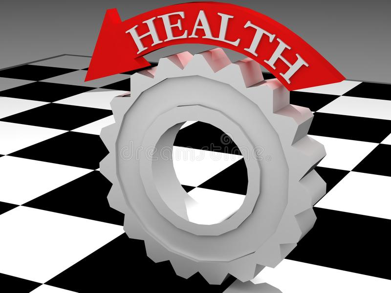 Health-gears Stock Photography