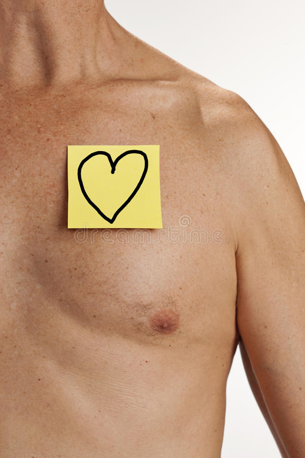 Health Heart Man Medical Wellness royalty free stock photography