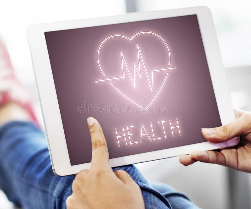 Health Heartbeat Icon Symbol Concept. Health Heartbeat Icon Symbol Application royalty free stock photo