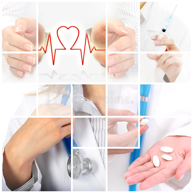 Health insurance. royalty free stock image