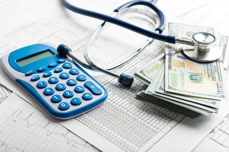 Health insurance application form royalty free stock images
