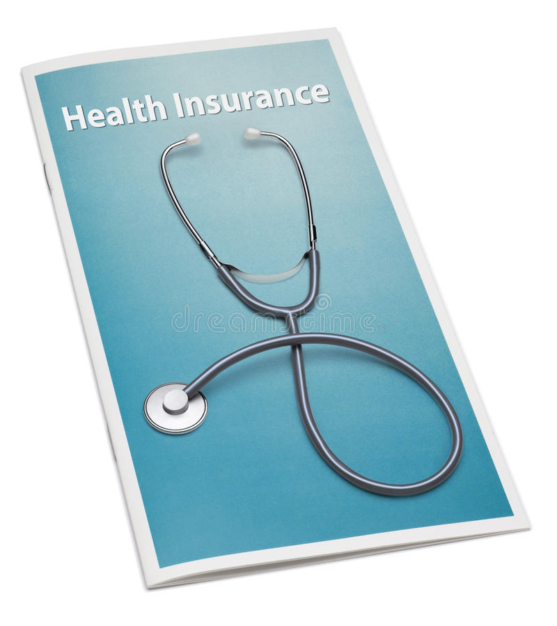 Health Insurance Booklet royalty free stock image