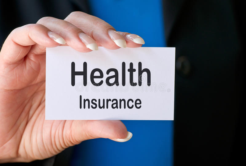 Download Health Insurance Business Card Stock Photo - Image: 20133354