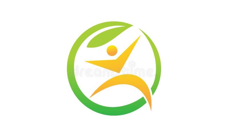 Health life Nutrition. Logo Design Template Vector stock illustration