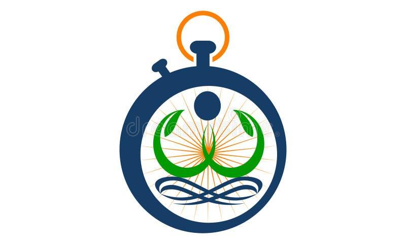 Health Life Spa and yoga. Logo Design Template Vector vector illustration