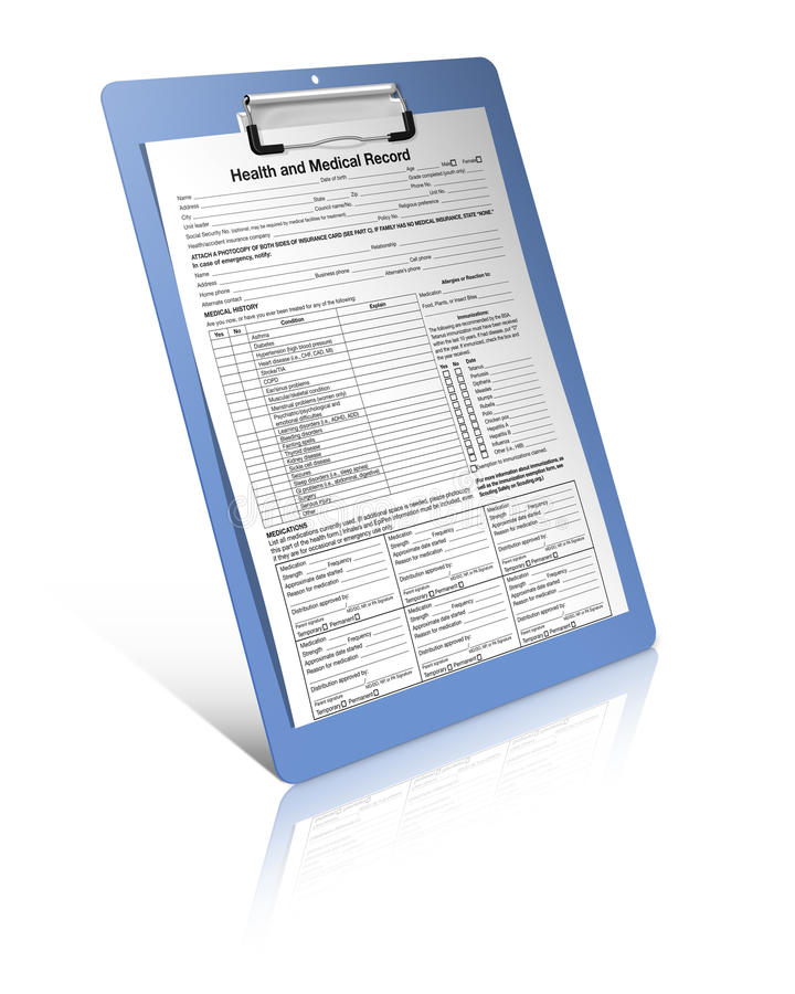 Health and medical record