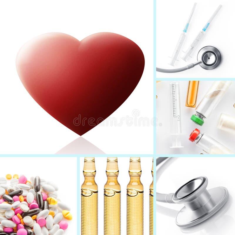 Health mix stock image