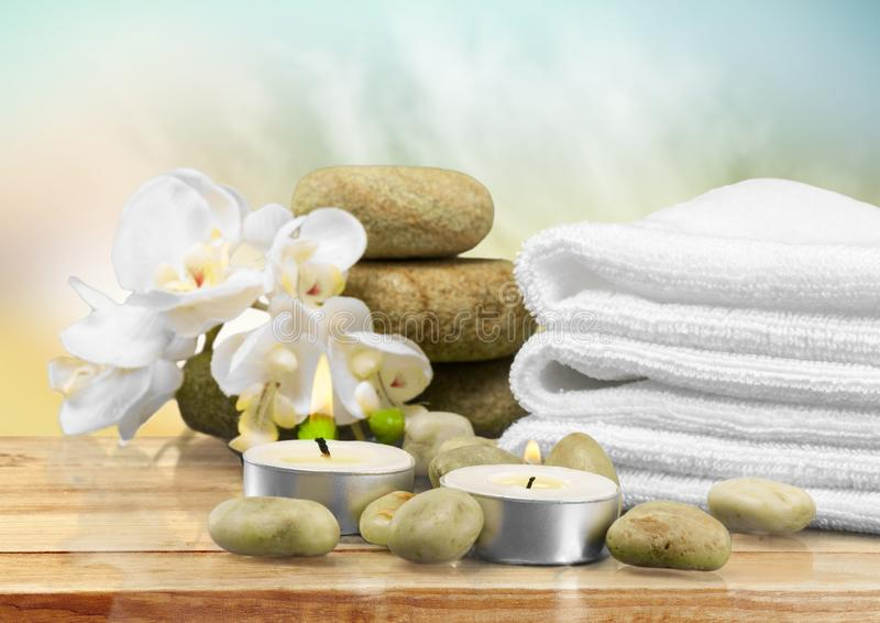 Health spa royalty free stock photography