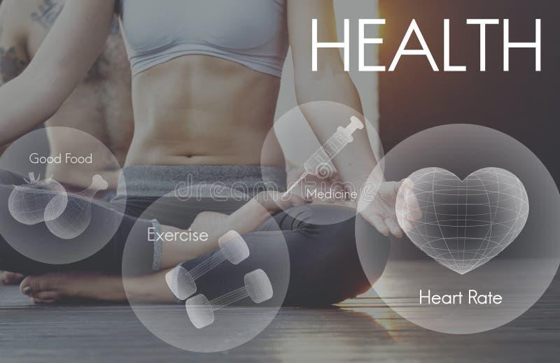 Health Wellbeing Wellness Vitality Healthcare Concept. Health Wellbeing Wellness Vitality Healthcare royalty free stock photos
