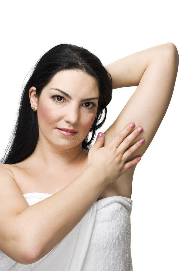 Health woman skin stock photography
