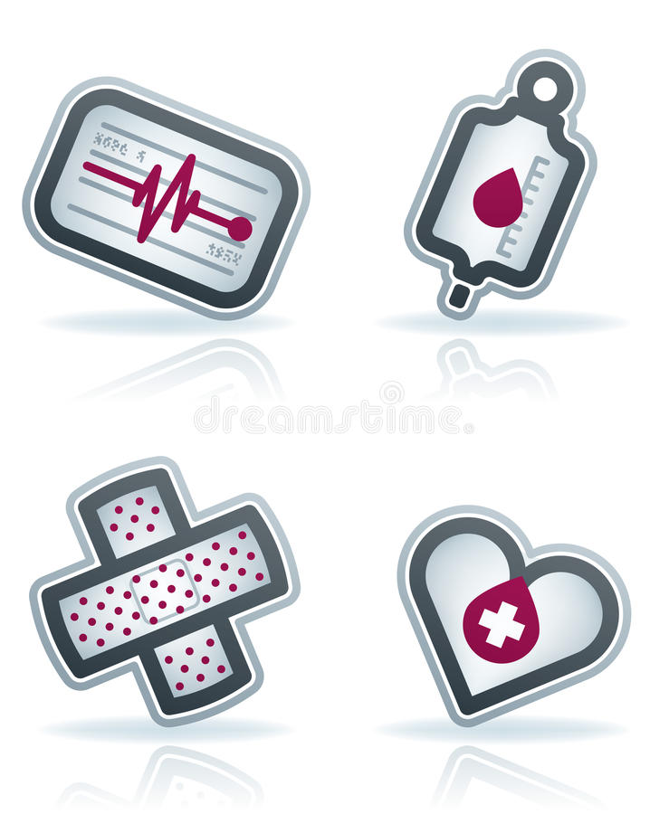 Download Healthcare stock vector. Image of heart, hospital, blue - 23644457