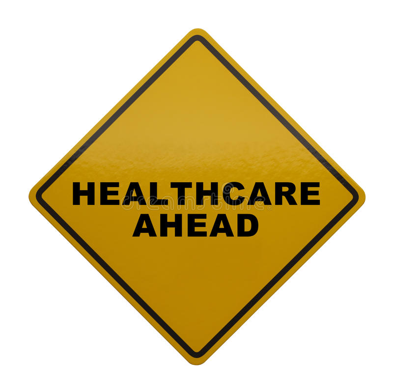 Healthcare Ahead royalty free stock image