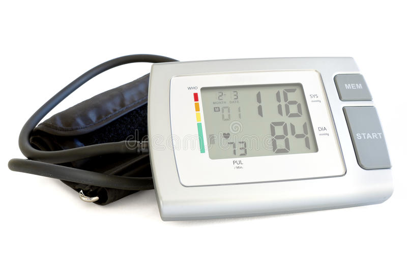 Download Healthcare Blood Pressure Monitoring Stock Photo - Image: 23524642