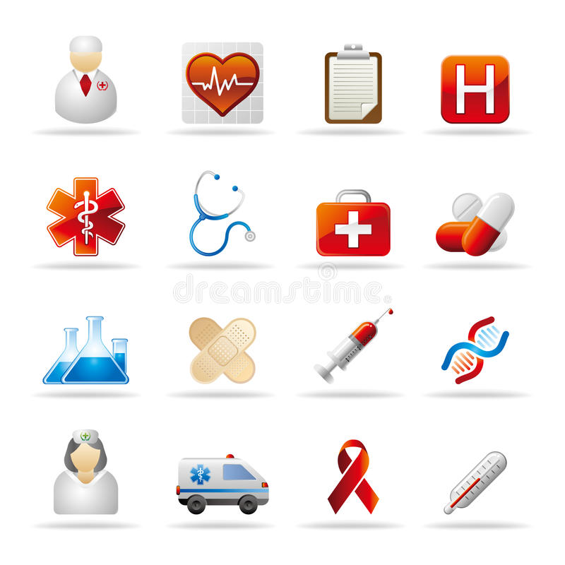 Free Healthcare Icon Royalty Free Stock Images - 19386849