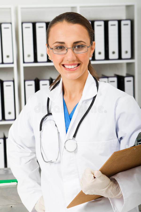 Healthcare intern royalty free stock image