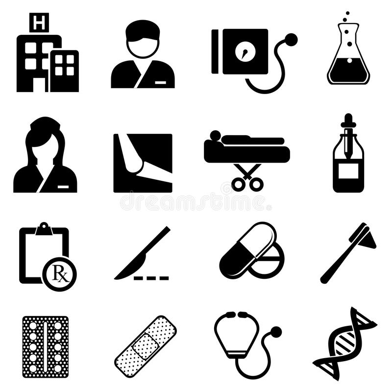 Download Healthcare And Medical Icons Stock Vector - Illustration: 33375557