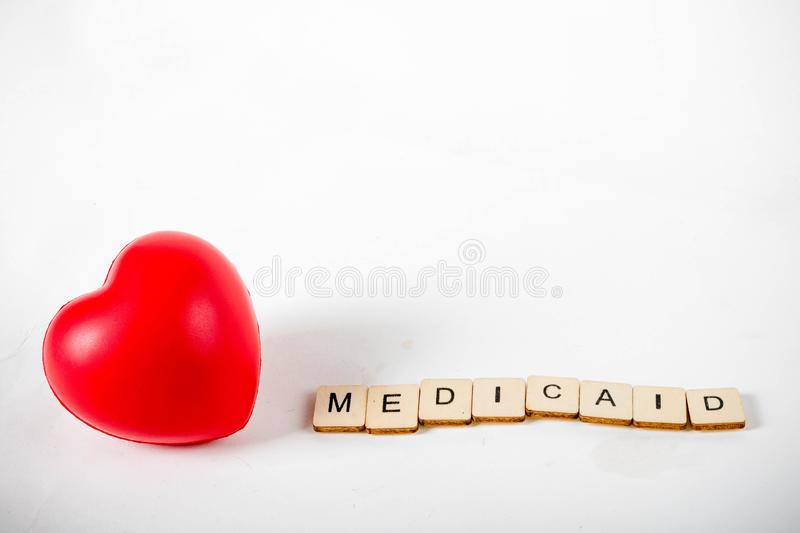 Healthcare message concept royalty free stock images