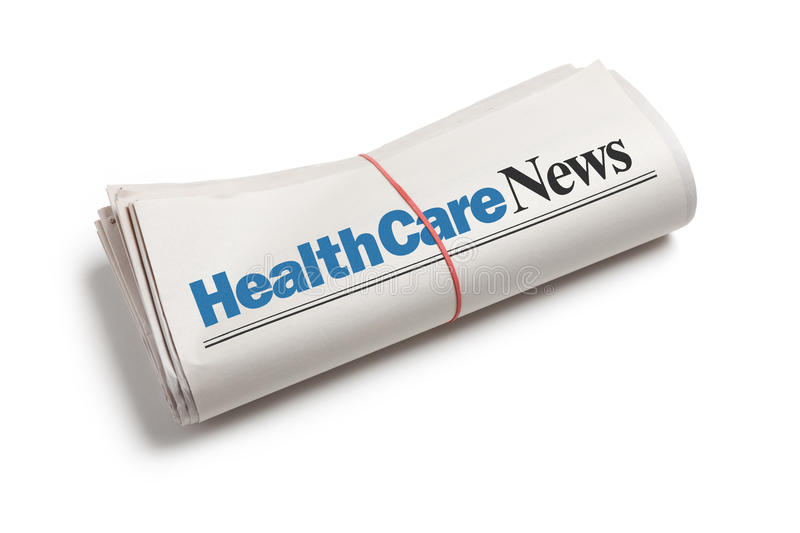 HealthCare News royalty free stock photography