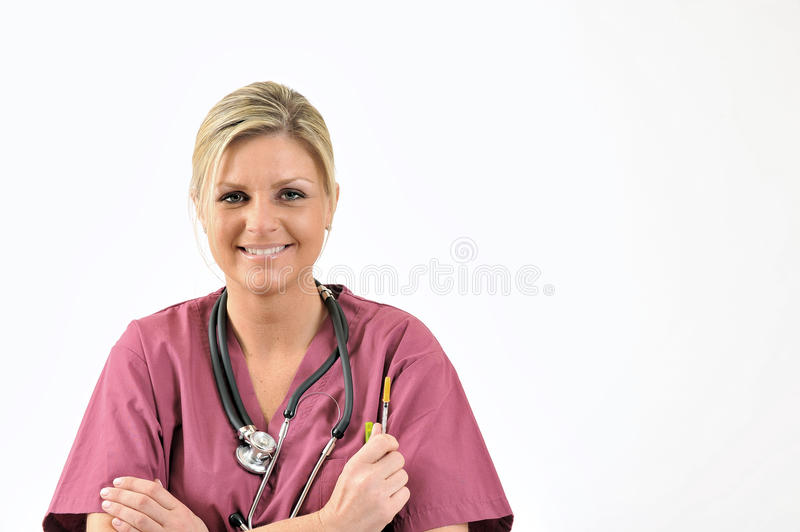 Download Healthcare - Nurse With Needle Stock Image - Image: 23213223