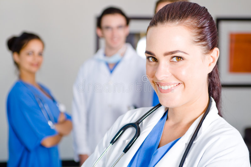 Download Healthcare staff stock photo. Image of colleague, girl - 8107416