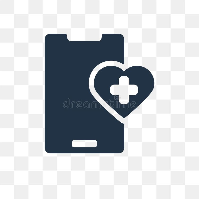 Healthcare vector icon isolated on transparent background, Healthcare transparency concept can be used web and mobile vector illustration