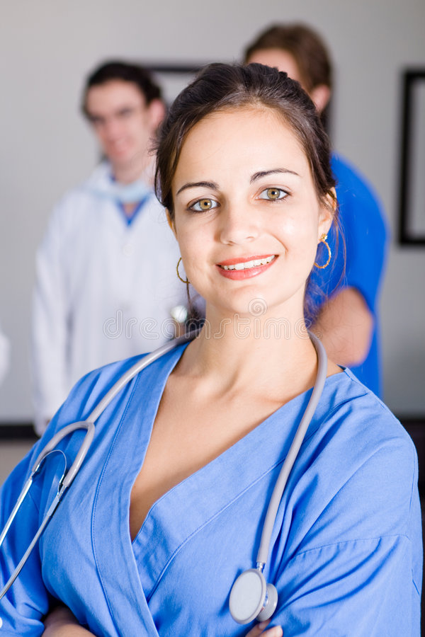 Download Healthcare worker stock image. Image of caring, girl, clear - 8107461