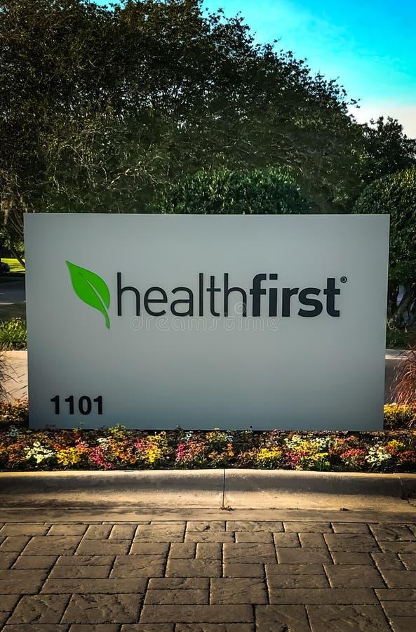 Healthfirst Amerykańska ubezpieczenie zdrowotne firma obraz royalty free