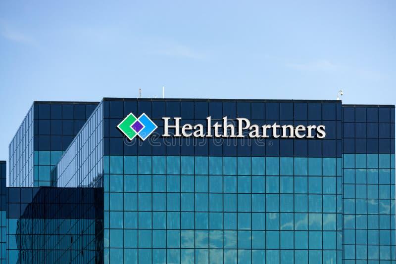 HealthPartners establece jefatura del edificio fotos de archivo libres de regalías