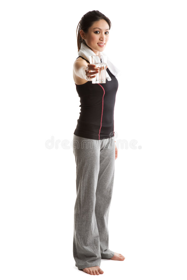 Download Healthy asian woman stock photo. Image of body, diet, sporty - 4924944